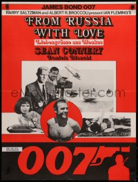 3t0043 FROM RUSSIA WITH LOVE Swiss R1970s Sean Connery is the unkillable James Bond 007, different!