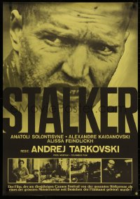 3t0045 STALKER Swiss 1979 Andrej Tarkovsky's Ctankep, Russian sci-fi, cool different image!