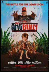 3y0011 ANT BULLY signed advance 1sh 2006 by BOTH director John A. Davis AND Keith Alcorn!