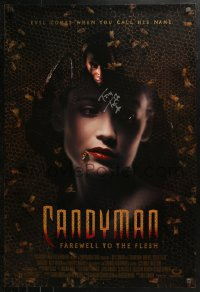 3y0025 CANDYMAN: FAREWELL TO THE FLESH signed DS 1sh 1995 by Tony Todd, Farewell to the Flesh