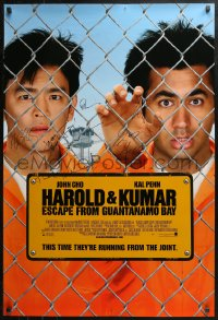 3y0004 HAROLD & KUMAR TWO signed one-sheets 2000s by Cho, Penn, NPH, Corddry, Hurwitz & Schlossberg!
