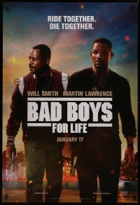 4a0729 BAD BOYS FOR LIFE photo background style teaser DS 1sh 2020 Will Smith, Martin Lawrence!