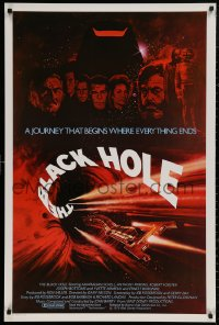 4a0757 BLACK HOLE int'l 1sh 1979 Disney sci-fi, Schell, Anthony Perkins, Forster & Yvette Mimieux!
