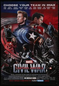 4a0023 CAPTAIN AMERICA: CIVIL WAR IMAX recalled advance DS Thai 1sh 2016 Marvel Comics, different!
