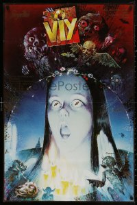 4a0022 VIY OR SPIRIT OF EVIL export Russian 26x39 R1980s wild, completely different horror art!