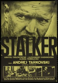 4a0015 STALKER Swiss 1979 Andrej Tarkovsky's Ctankep, Russian sci-fi, cool different image!