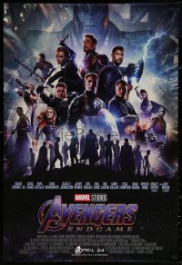 4j0027 AVENGERS: ENDGAME advance DS Thai 1sh 2019 Marvel, different dark montage w/Hemsworth & cast!
