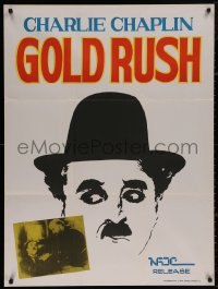 4j0034 GOLD RUSH Indian R1970s Charlie Chaplin classic, cool different artwork!