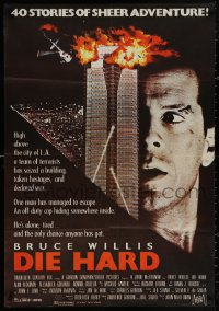 4j0070 DIE HARD Lebanese 1988 Bruce Willis vs Alan Rickman and terrorists, action classic!