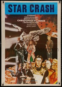 4j0078 STARCRASH Lebanese 1979 cool Italian/U.S. sci-fi adventure, different art and images!