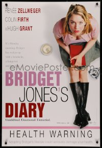 4j0037 BRIDGET JONES'S DIARY DS Swiss 2001 sexy Renee Zellweger, health warning, different!