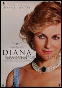 4j0038 DIANA Swiss 2013 great portrait of Naomi Watts in the title role as Princess Diana!