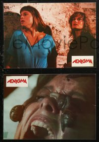 4m0061 AENIGMA 8 French LCs 1988 wild Italian horror images, directed by Lucio Fulci!