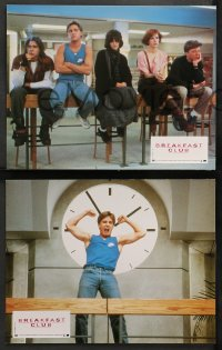 4m0046 BREAKFAST CLUB 11 French LCs 1985 John Hughes, Emilio Estevez, Molly Ringwald, Nelson