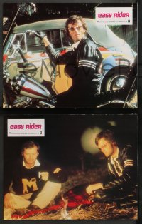 4m0070 EASY RIDER 6 style B French LCs R1970s Peter Fonda, biker classic directed by Dennis Hopper