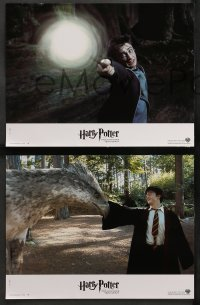 4m0063 HARRY POTTER & THE PRISONER OF AZKABAN 8 French LCs 2004 Daniel Radcliffe, Watson & Grint!