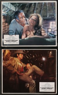 4m0068 ONCE UPON A TIME IN THE WEST 7 French LCs 1969 Leone, Claudia Cardinale, Fonda & Bronson!