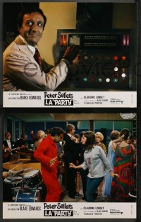 4m0055 PARTY 9 style A French LCs 1969 Peter Sellers, Claudine Longet, directed by Blake Edwards!