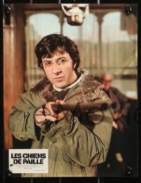 4m0052 STRAW DOGS 9 style B French LCs 1972 Dustin Hoffman, Susan George, directed by Sam Peckinpah!
