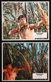 4m0033 TARZAN & THE JUNGLE BOY 16 French LCs 1968 could Mike Henry find him in the wild jungle?
