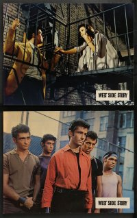 4m0051 WEST SIDE STORY 10 French LCs 1962 Natalie Wood, Richard Beymer, Russ Tamblyn, classic musical!
