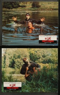 4m0036 ZOMBIE LAKE 12 French LCs 1981 Le Lac Des Morts Vivants, wild images of Nazi undead zombies!