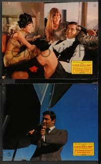 4m0075 ON HER MAJESTY'S SECRET SERVICE 40 German LCs 1969 Lazenby's as Bond, ultra rare 40 card set!