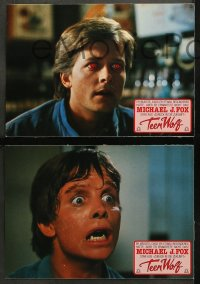 4m0077 TEEN WOLF 22 German LCs 1985 teenage werewolf Michael J. Fox, Jerry Levine, different images!