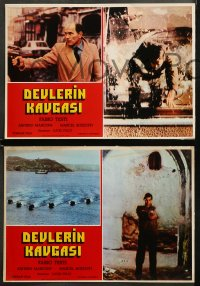 4m0006 CONTRABAND 6 Turkish LCs 1980 Lucio Fulci's Luca Il Contrabbandiere, different images!