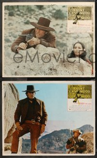 4m0027 JOE KIDD 4 Mexican LCs 1972 John Sturges, if you're looking for trouble, he's Clint Eastwood!