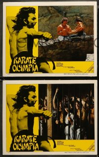 4m0005 KILL OR BE KILLED 8 South American LCs 1980 James Ryan, kung fu martial arts, Karate Olympia!