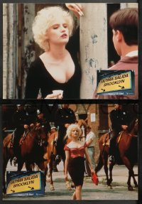 4m0020 LAST EXIT TO BROOKLYN 12 Spanish LCs 1989 sexy Jennifer Jason Leigh, Lang, Orbach, Lake!