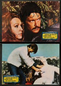 4m0014 PASSI DI DANZA SU UNA LAMA DI RASOIO 12 Spanish LCs 1974 wild different horror images!