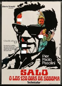 4m0017 SALO OR THE 120 DAYS OF SODOM 12 Spanish LCs 1980 Pasolini's Salo o le 120 Giornate di Sodoma!