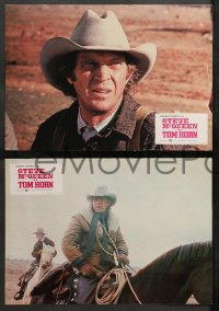 4m0022 TOM HORN 12 Spanish LCs 1980 see cowboy Steve McQueen in the title role before he sees you!