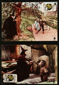 4m0025 WIZARD OF OZ 3 Spanish LCs R1982 Judy Garland, Ray Bolger, Hamilton and monkeys!