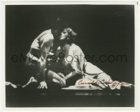 4p0571 GERALDINE PAGE signed 8x10 REPRO still 1980s in Tennessee Williams' Clothes for a Summer Hotel