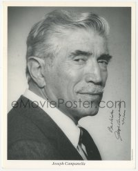4p0495 JOSEPH CAMPANELLA signed 8x10 publicity still 2000 great head & shoulders portrait!
