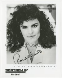 4p0502 ROBIN CURTIS signed 8x10 publicity still 1991 great portrait of the Star Trek actress from Seatrek