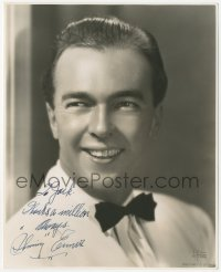 4p0503 SKINNAY ENNIS signed deluxe 7.75x9.5 publicity still 1940s the jazz musician by DeFreitas!