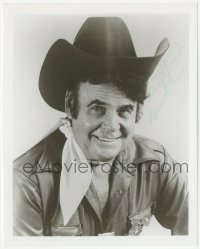 4p0624 SUNSET CARSON signed 8x10 REPRO still 1980s smiling cowboy portrait late in her career!