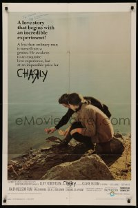 4p0049 CHARLY signed 1sh 1968 by Cliff Robertson, who is a less than ordinary man!