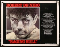 4p0027 RAGING BULL signed 1/2sh 1980 by Jake LaMotta, Kunio Hagio art of Robert De Niro as the boxer!