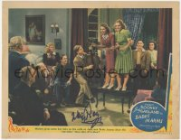 4p0149 BABES IN ARMS signed LC 1939 by Mickey Rooney, who plays the cello as Judy Garland sings!