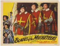 4p0151 BLADES OF THE MUSKETEERS signed LC #5 1953 by Robert Clarke, who is D'Artagnan, Boetticher!