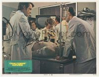 4p0160 DOCTORS' WIVES signed LC #6 1971 by Richard Crenna, who's working in the operating room!