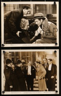 4r1236 BULLDOG DRUMMOND STRIKES BACK 5 8x10 stills 1934 images of Ronald Colman and Loretta Young!