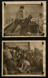 4r1218 SEA WOLF 6 8x10 LCs 1920 starring Noah Beery Sr. as Jack London's Wolf Larsen, ultra rare!