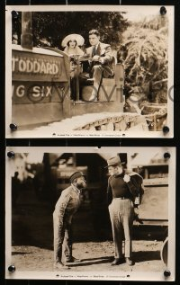 4r1207 MAN POWER 6 8x10 stills 1927 great images of Richard Dix and gorgeous Mary Brian!