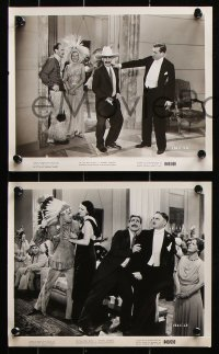 4r1211 MONKEY BUSINESS 6 8x10 stills R1949 great images of all 4 Marx Brothers including Zeppo!